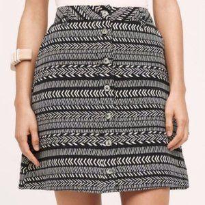 Mauve | Anthropologie Tribal Print Skirt